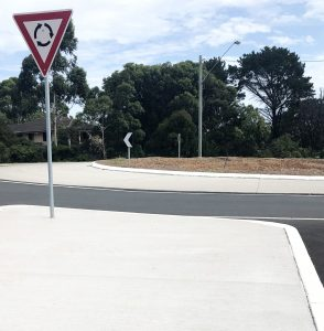PSCC Greencrete Roundabout